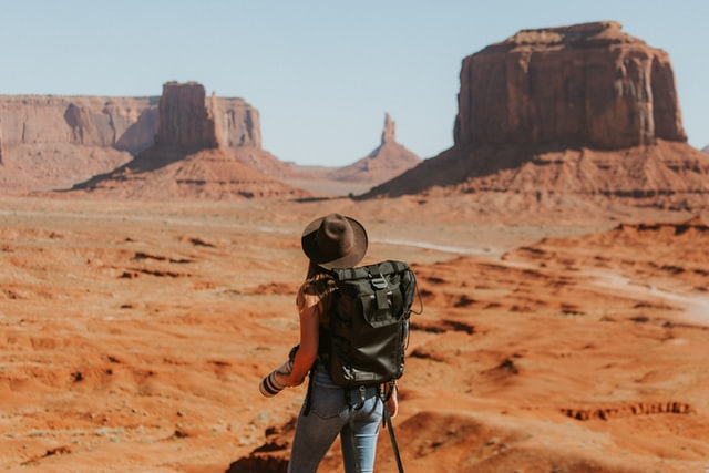 Exploring Monument Valley